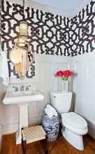 Fresh and cool powder room design & decoration ideas (62)