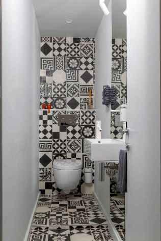 Fresh and cool powder room design & decoration ideas (64)