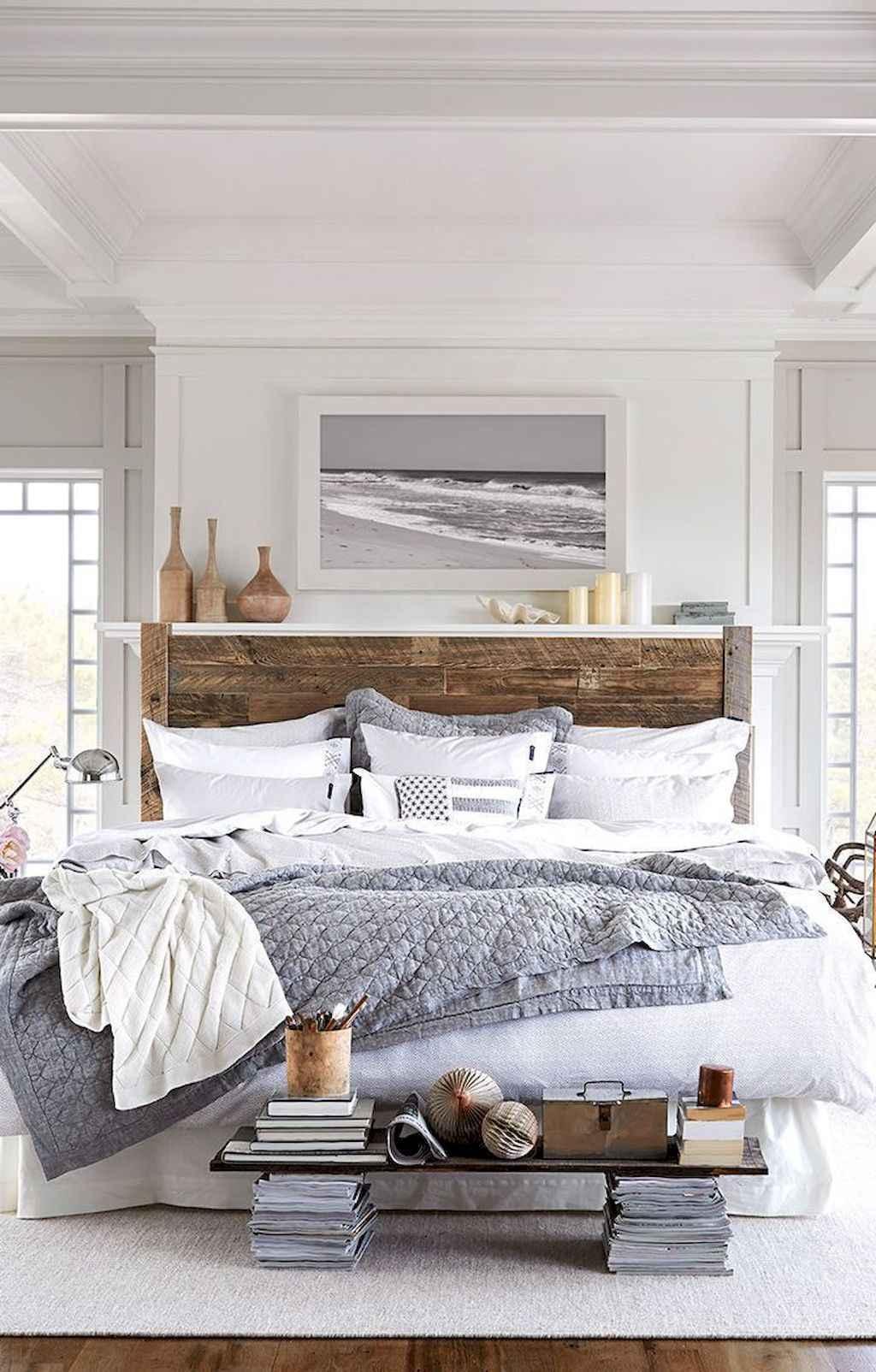 Gorgeous rustic master bedroom design & decor ideas (38)