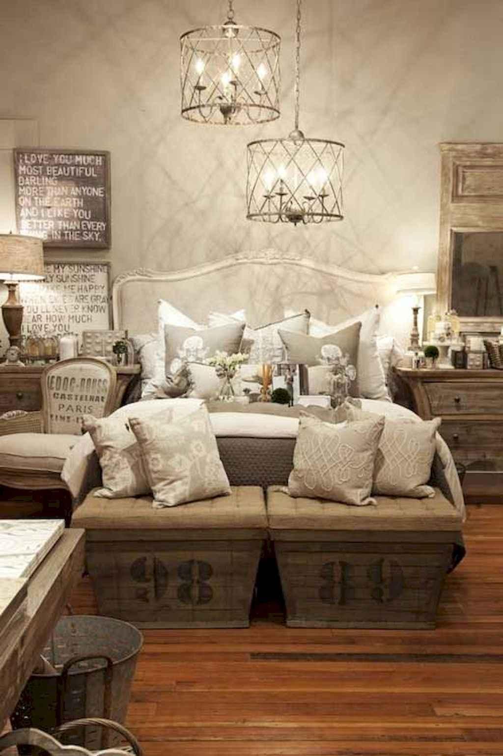Gorgeous rustic master bedroom design & decor ideas (42)