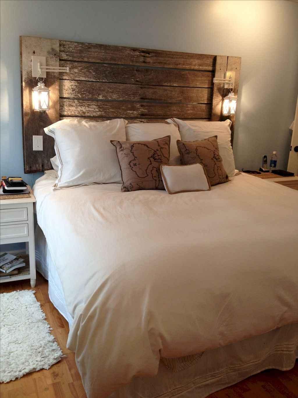 Gorgeous rustic master bedroom design & decor ideas (50)