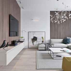 Gorgeous scandinavian living room design trends (45)