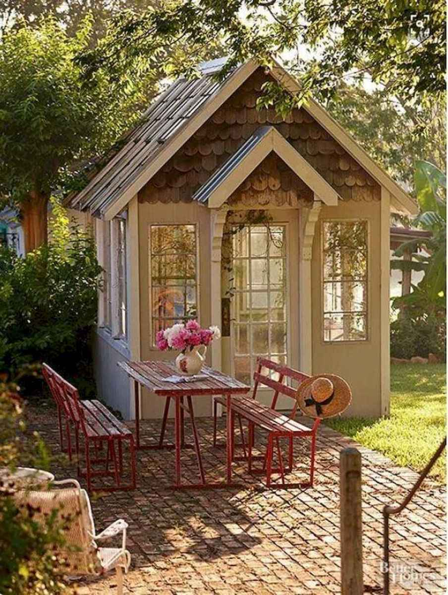 Incredible backyard storage shed makeover design ideas (25)