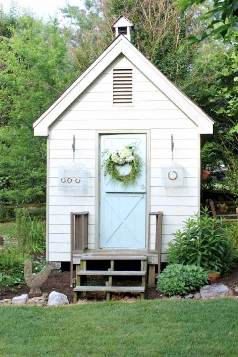 Incredible backyard storage shed makeover design ideas (38)