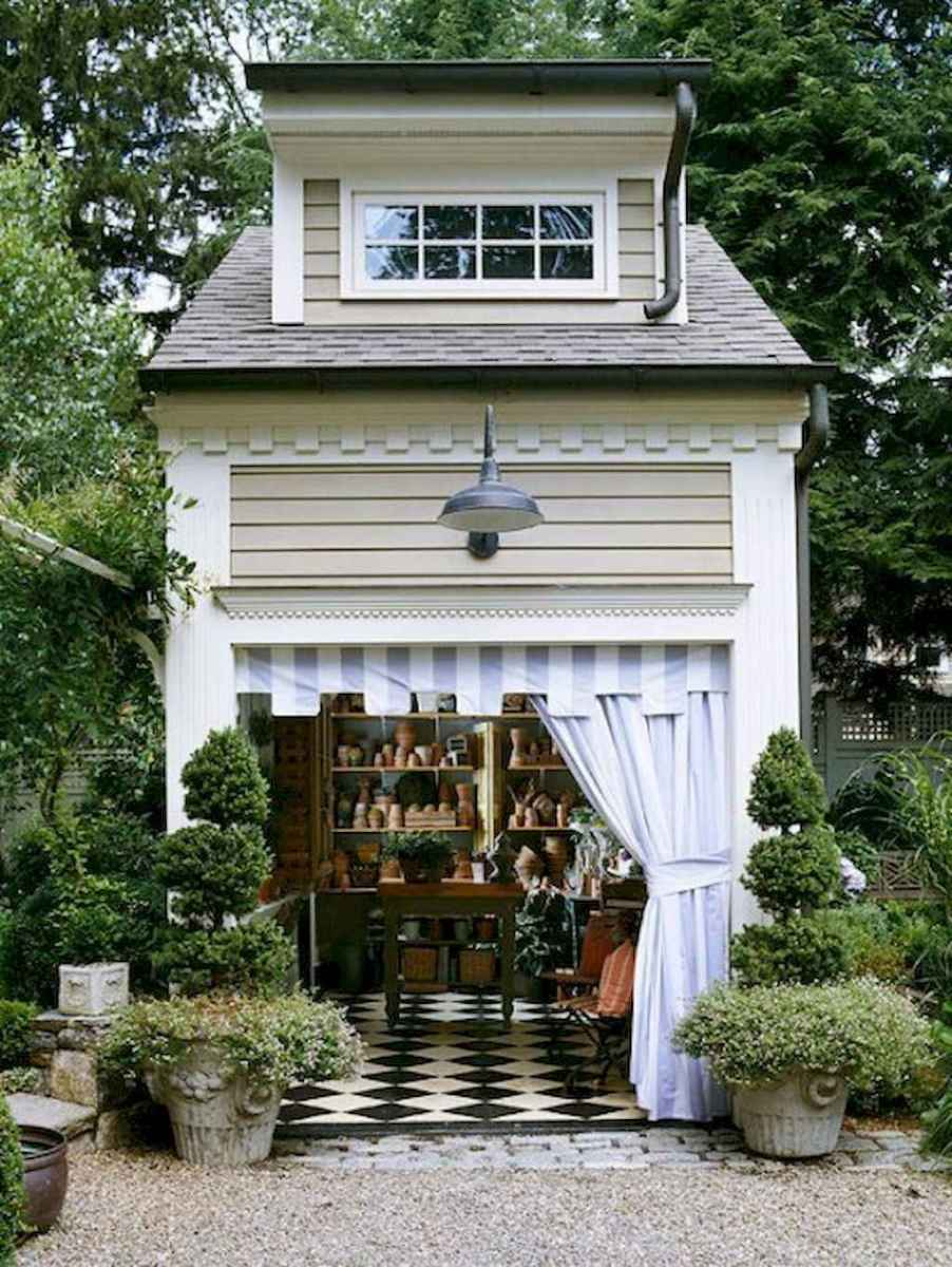 Incredible backyard storage shed makeover design ideas (61)