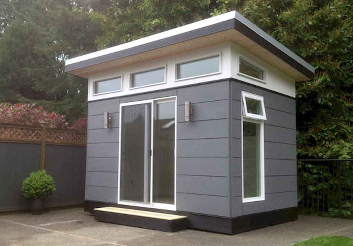 Incredible backyard storage shed makeover design ideas (78)