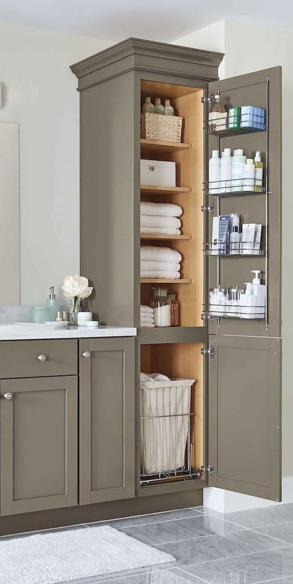 Inspiring apartment bathroom remodel ideas on a budget (1)