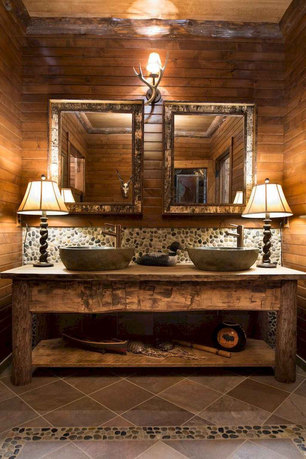 Inspiring rustic bathroom decor ideas (21)