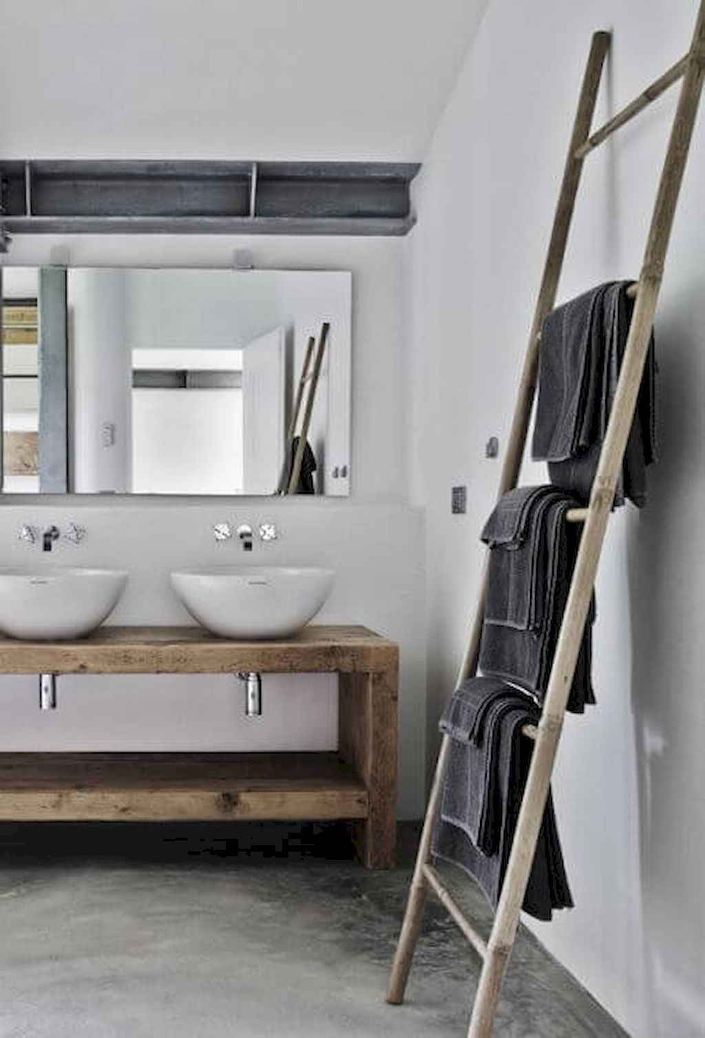 Inspiring rustic bathroom decor ideas (36)