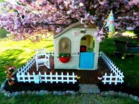 Magically sweet backyard playhouse ideas for kids garden (1)