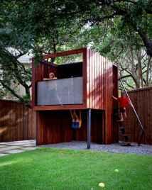 Magically sweet backyard playhouse ideas for kids garden (32)