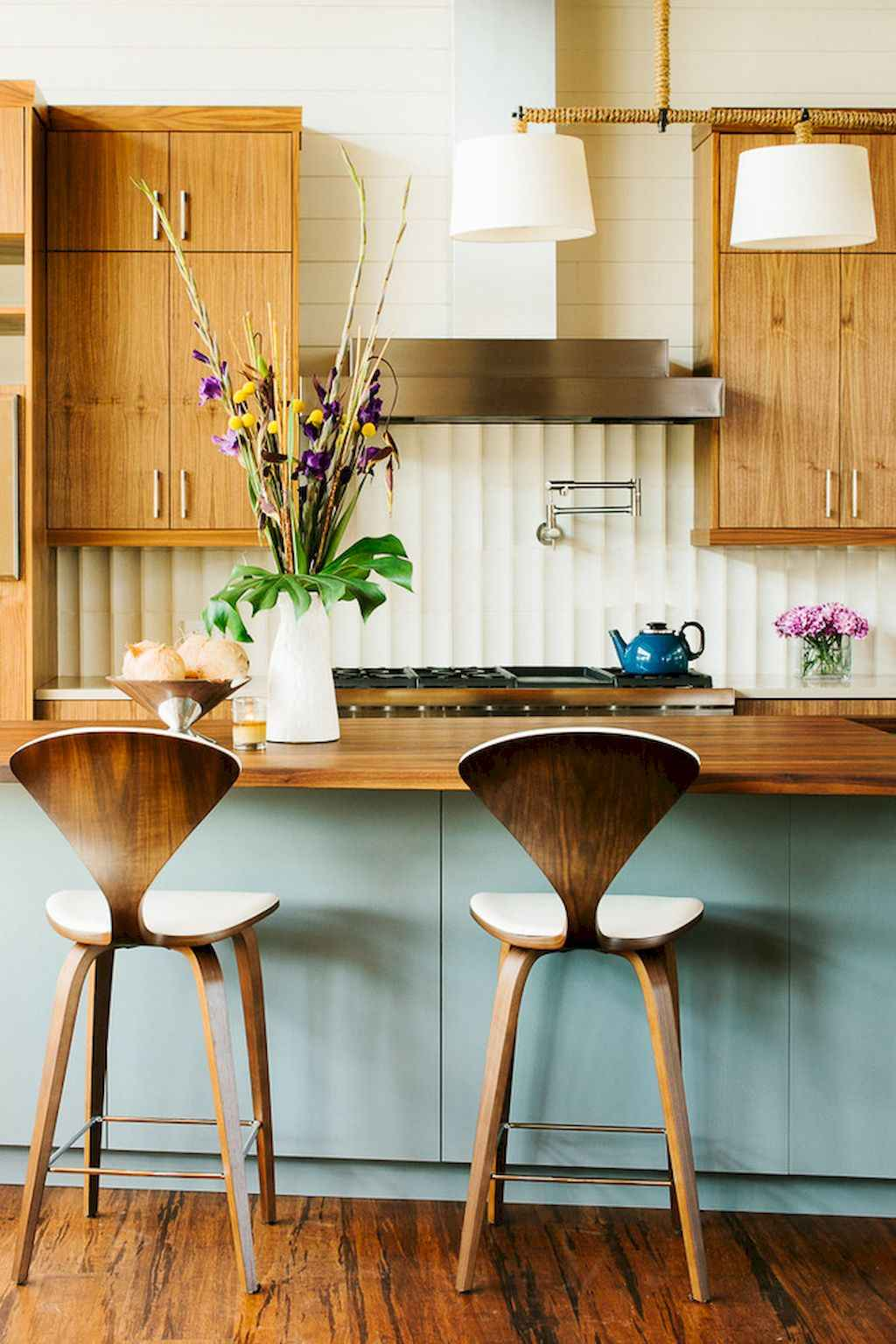 Mid century modern kitchen design ideas (13)