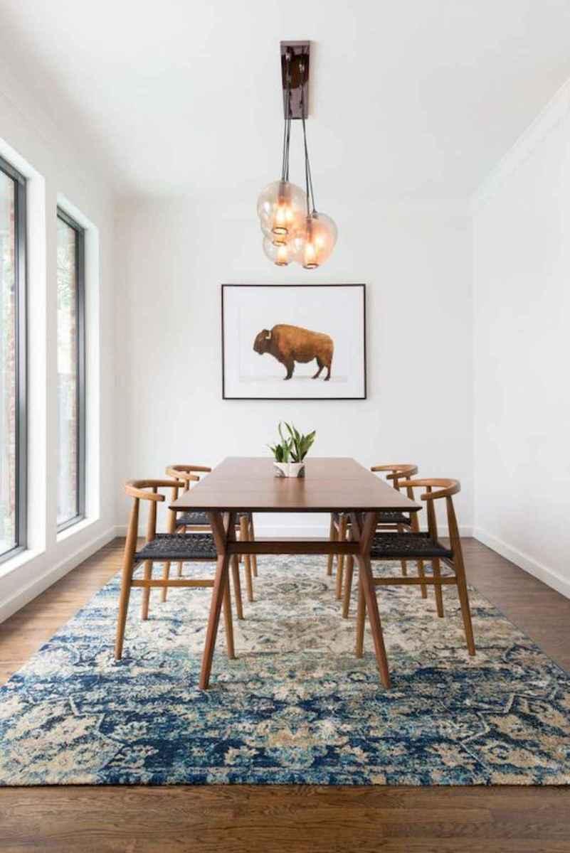 Modern mid century dining room table ideas (29)