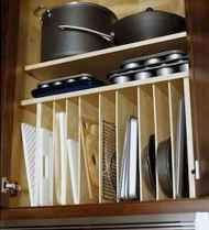 Most clever tips kitchen organization ideas (23)