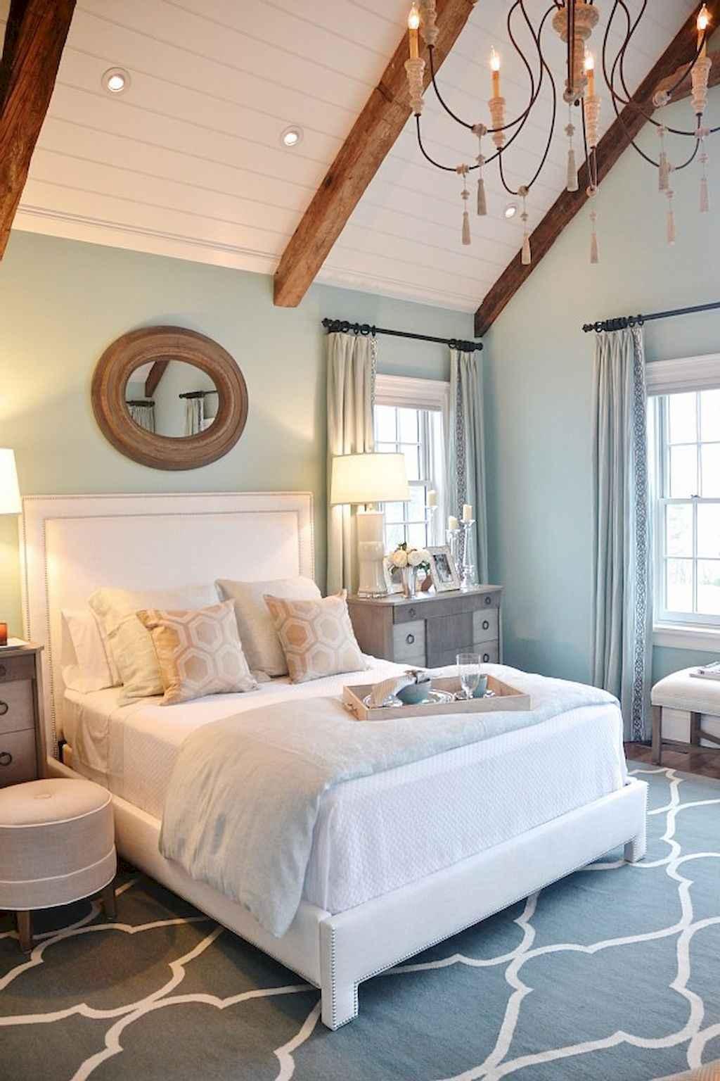 Perfect coastal beach bedroom decoration ideas (17)
