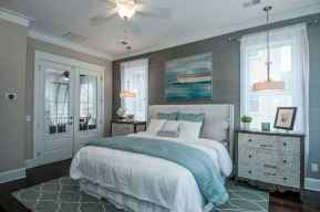 Perfect coastal beach bedroom decoration ideas (25)