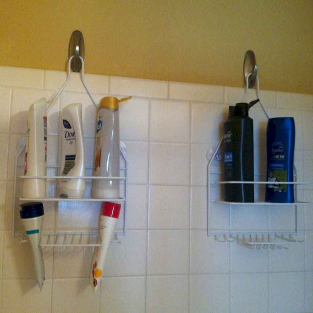 Quick and easy bathroom organization storage ideas (35)