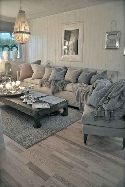 Romantic shabby chic living room decoration ideas (10)