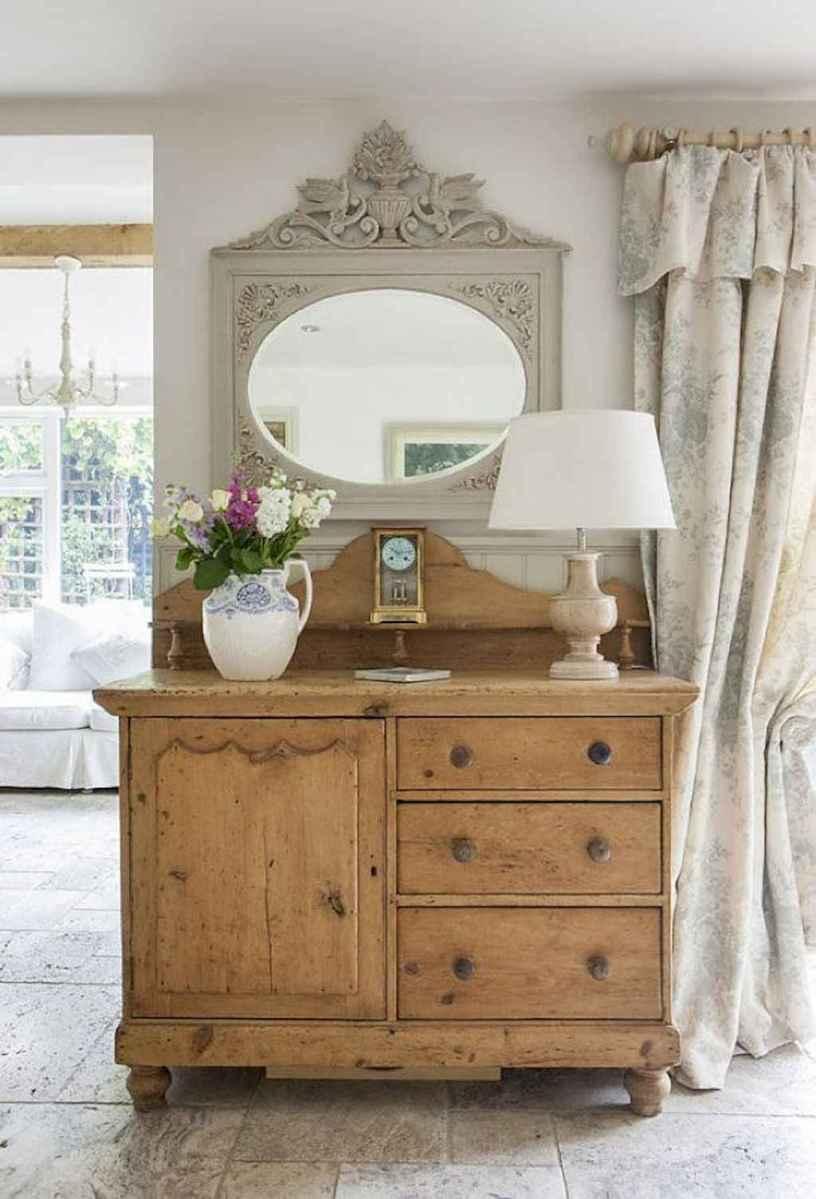 Romantic shabby chic living room decoration ideas (26)