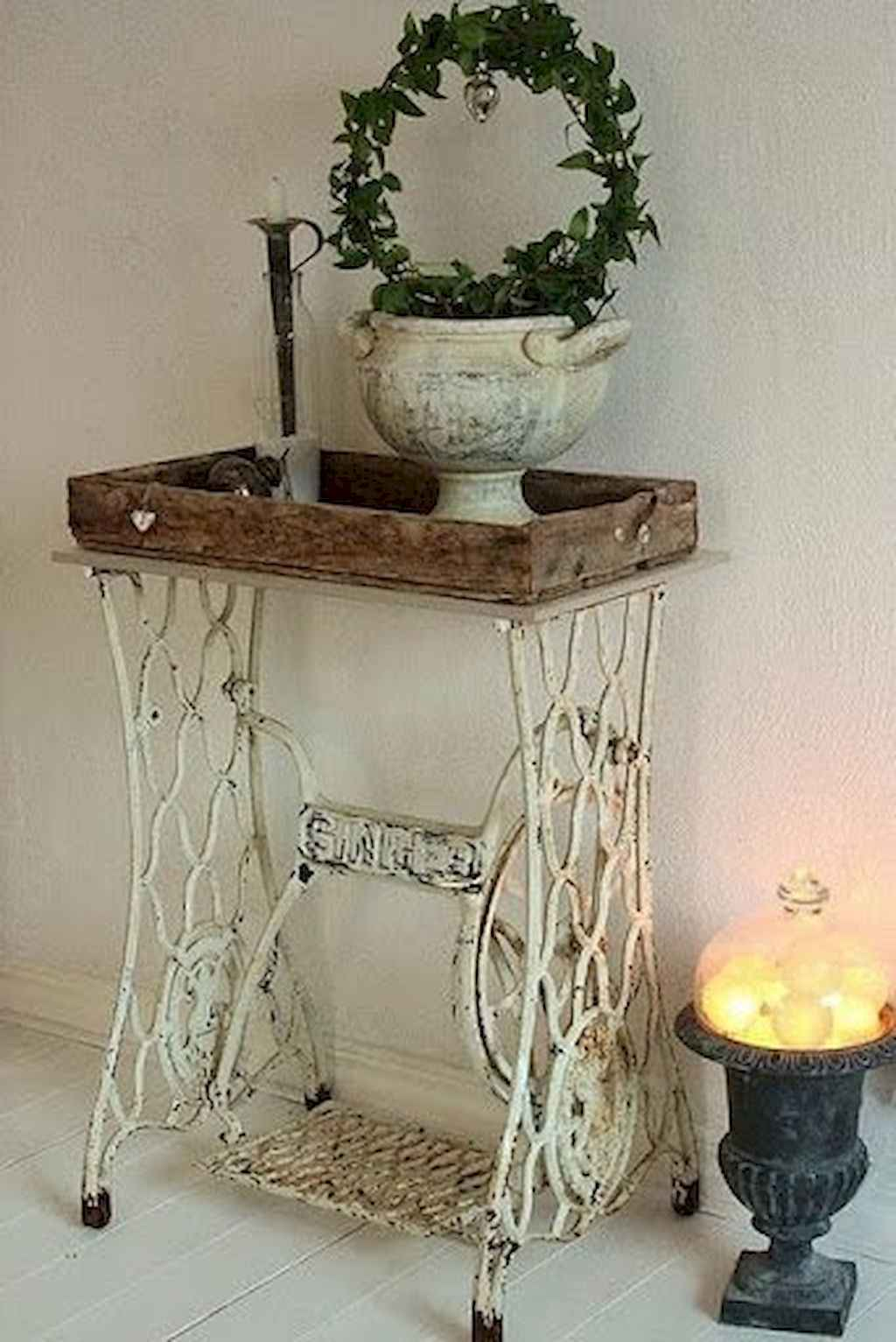 Romantic shabby chic living room decoration ideas (29)