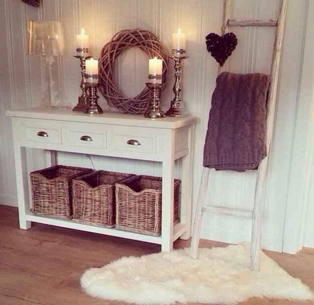 Romantic shabby chic living room decoration ideas (50)