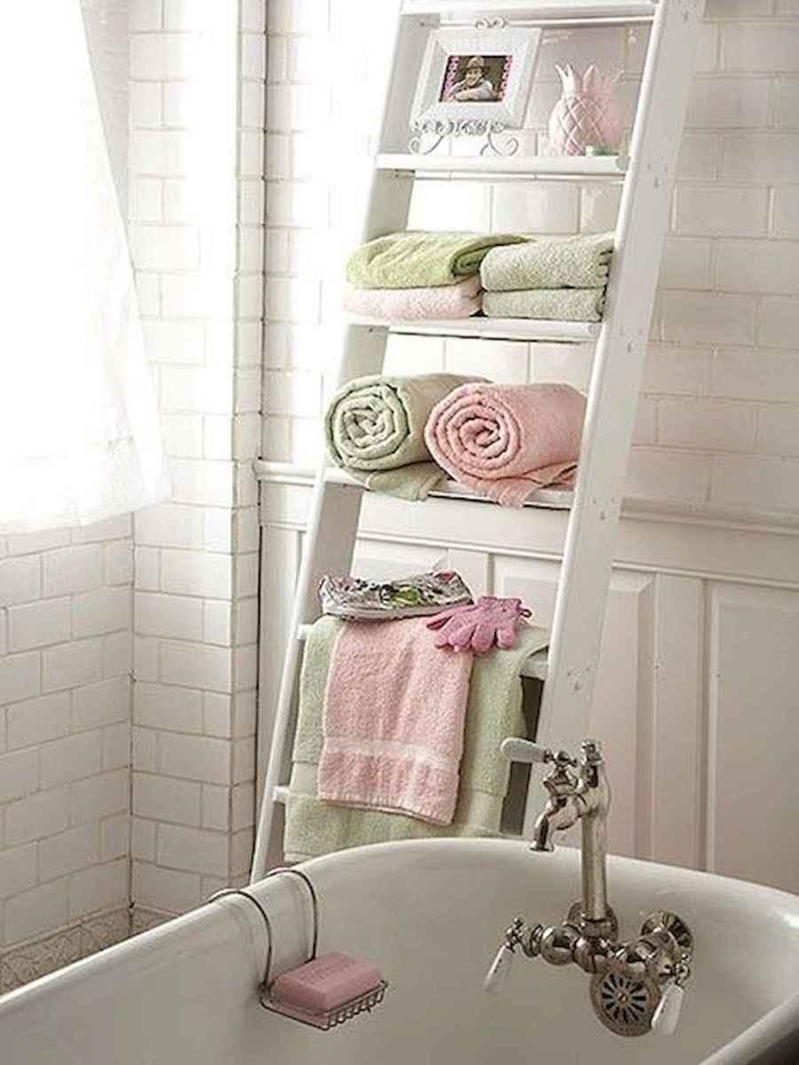 Shabby chic bathroom remodel ideas (14)