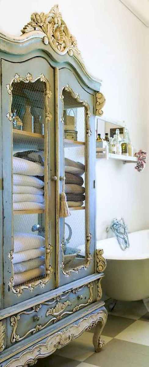 Shabby chic bathroom remodel ideas (37)
