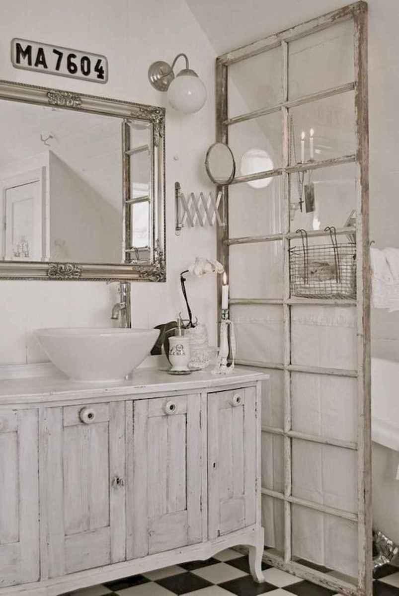 Shabby chic bathroom remodel ideas (9)