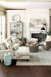 Simple clean vintage living room decorating ideas (17)