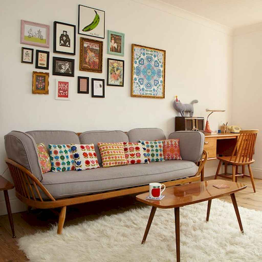 Simple clean vintage living room decorating ideas (22)
