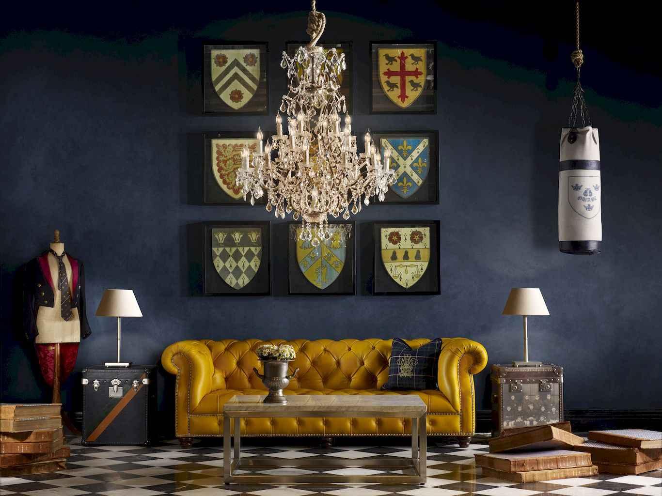 Simple clean vintage living room decorating ideas (4)