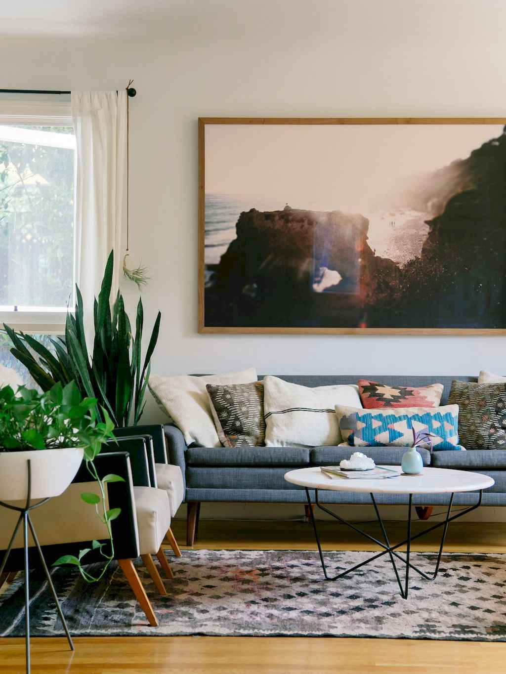 Simple clean vintage living room decorating ideas (48)