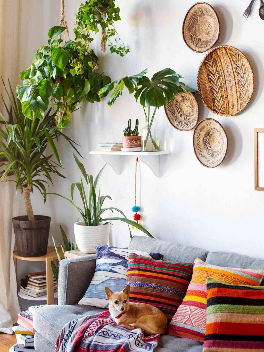 Simple clean vintage living room decorating ideas (5)