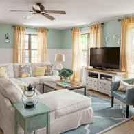 Wonderful coastal living room design & decor ideas (27)