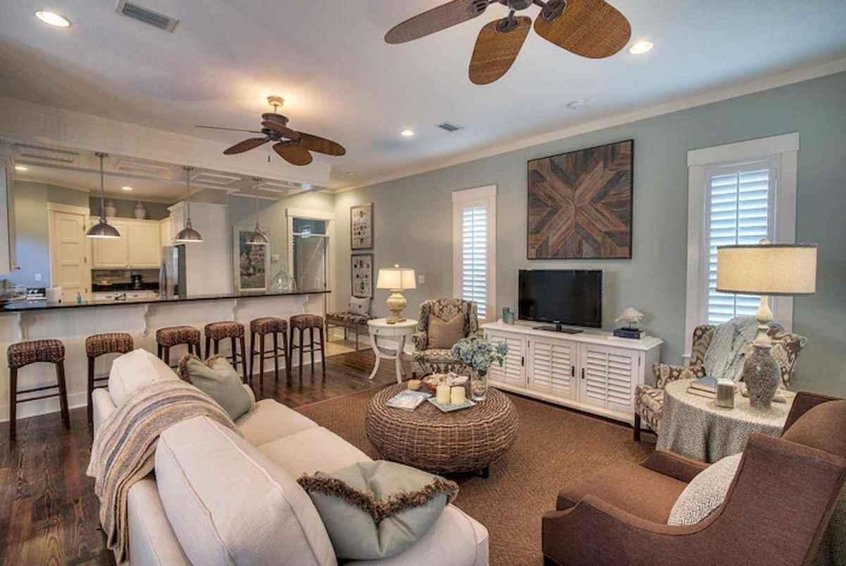 Wonderful coastal living room design & decor ideas (31)