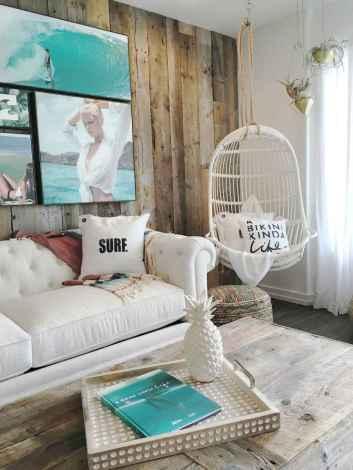 Wonderful coastal living room design & decor ideas (33)