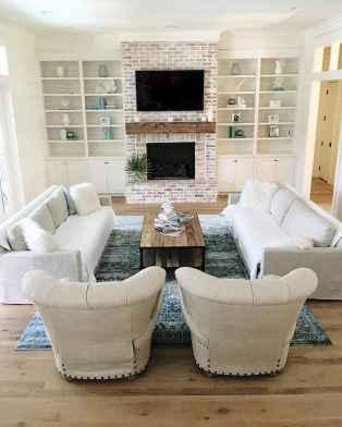 Wonderful coastal living room design & decor ideas (35)
