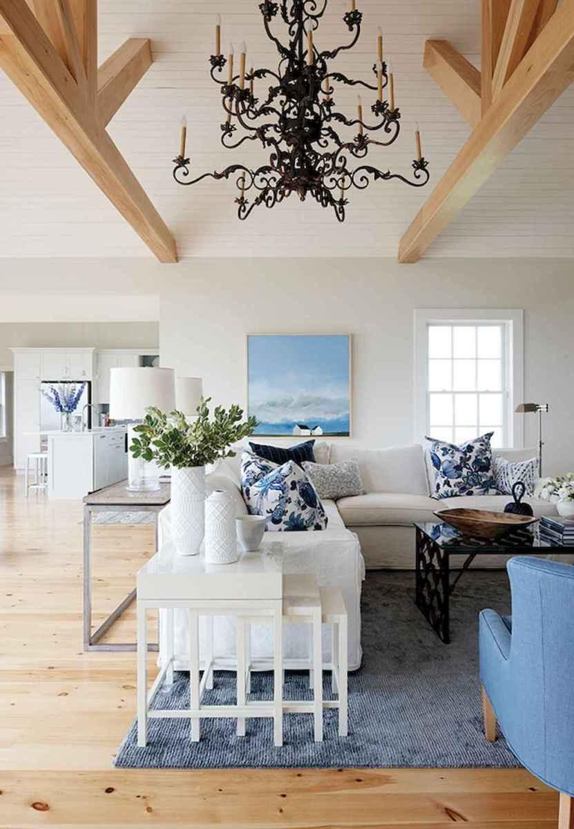 Wonderful coastal living room design & decor ideas (8)