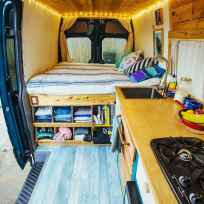 Best rv camper van interior decorating ideas (13)