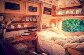 Best rv camper van interior decorating ideas (18)