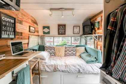 Best rv camper van interior decorating ideas (24)