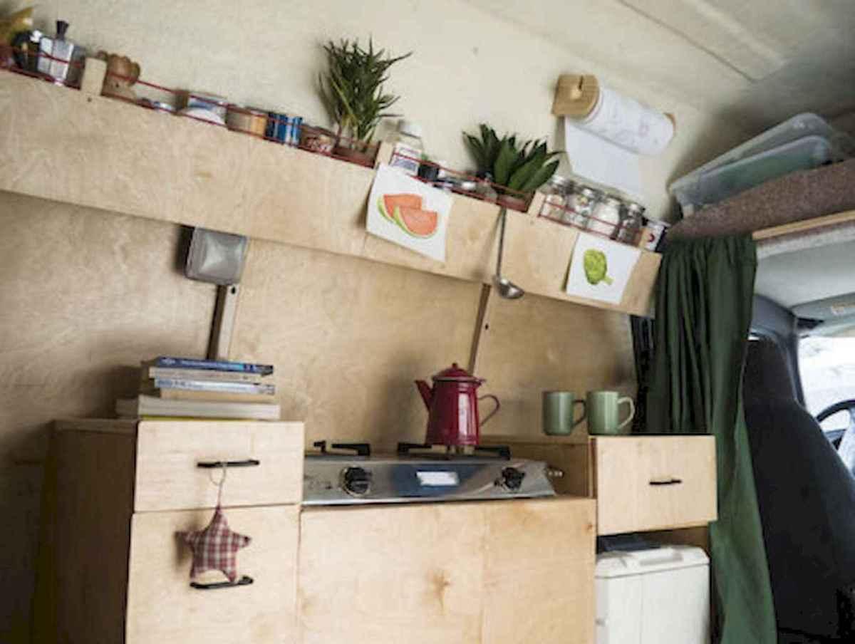 Best rv camper van interior decorating ideas (28)
