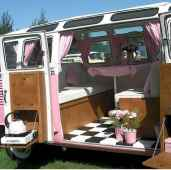 Best rv camper van interior decorating ideas (38)