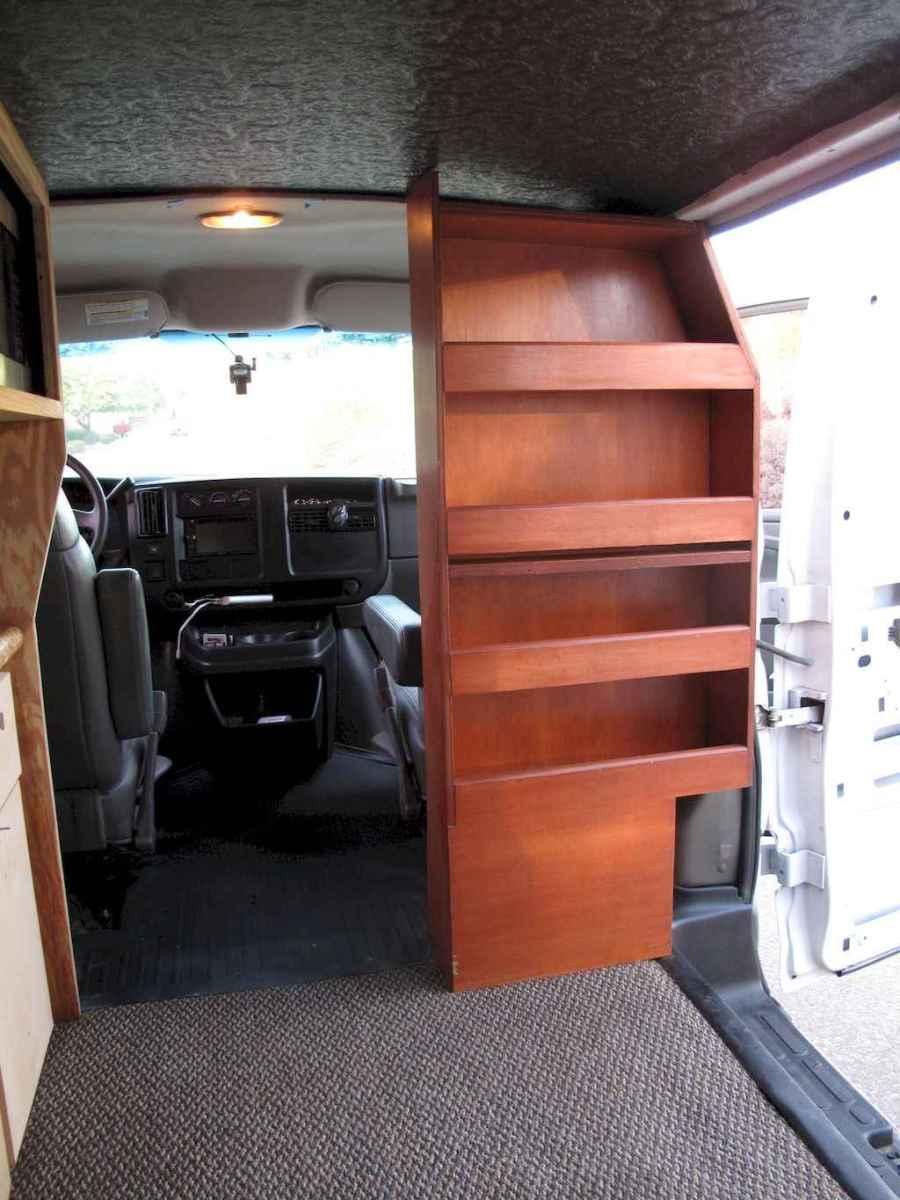 Best rv camper van interior decorating ideas (46)