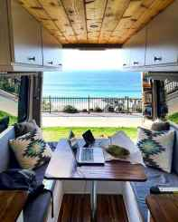 Best rv camper van interior decorating ideas (48)