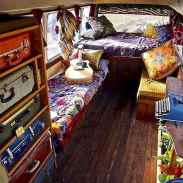 Best rv camper van interior decorating ideas (49)
