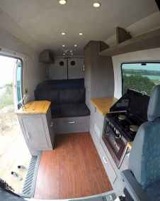 Best rv camper van interior decorating ideas (55)
