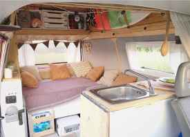 Best rv camper van interior decorating ideas (67)