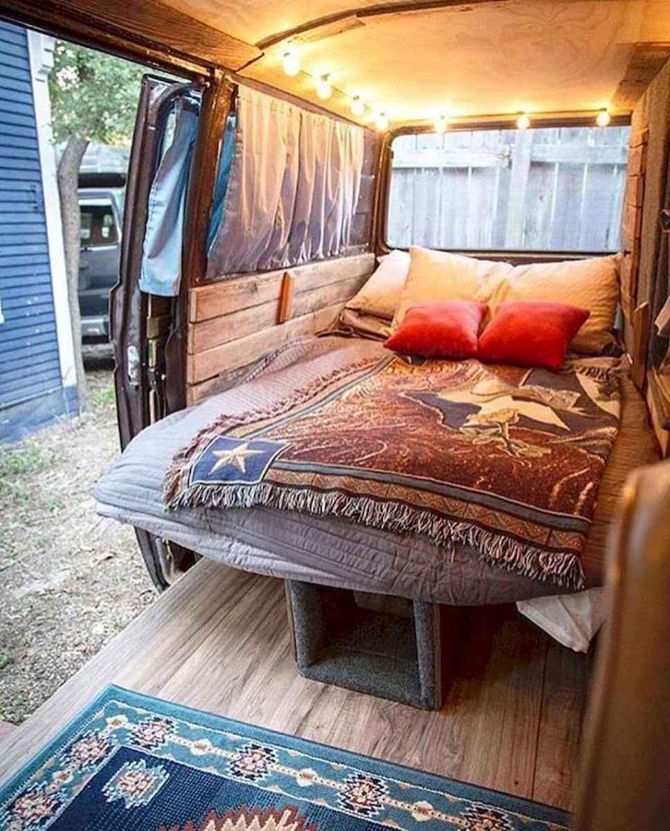 Best rv camper van interior decorating ideas (74)