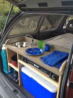 Best rv camper van interior decorating ideas (85)